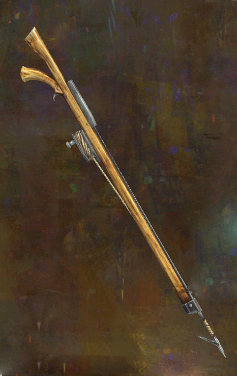 Guild Wars 2 Weapon Gallery Aquatic Harpoon Gun
